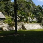 A Mayan ruin in the center of Pook's hill.  Regular units are in the background
