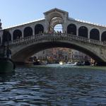 You really are this close to the Rialto bridge