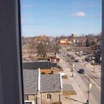 view from rm 705 country inn and suites,small town ont