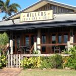 Millers from the beach