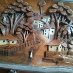 Wood carved co