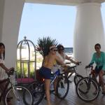 Care for a bike ride around the resort?
