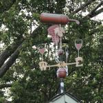 Weather vane in a different light
