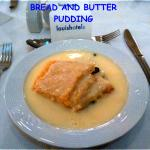 Bread and butter pudding, watch out for this!