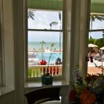 Inside the Southernmost House Pool View