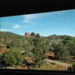 Through a looking glass...the view from our room