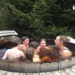 Hot tub fun