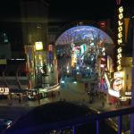 Excellent view of Fremont Street f