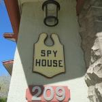 front of Spy House