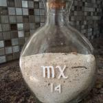 sand from San Francisco Beach at Occidental Grand Cozumel