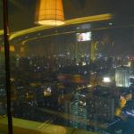 Revolving restaurant view