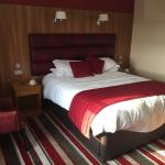 Our newly refurbished room.