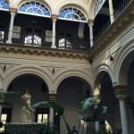 View of interior courtyard