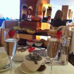 Afternoon tea at the Conrad. Fabulous !!!