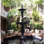 The courtyard at the Hotel Provincial