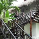 Steps up to the first floor Casita.