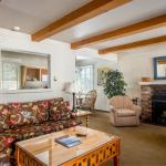 Spacious Living Rooms and Wood-Burning FP at the Lodge