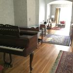 Dining room - GRAND PIANO?!?!