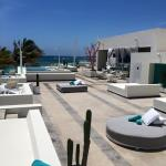 Grand private rooftop pools and bar
