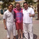 Ibrahim and Amed great beach guys
