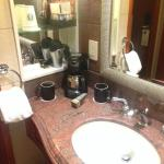 Coffee Maker in the Bathroom/Toilet