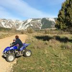 ATV Track with the most amazing views @ Cub River Guest Ranch