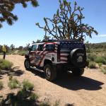 The hummer ride in the desert (nice vegetation and views)