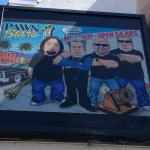 The Pawn shop from the tv show Paw Stars in not even 7 minutes by cab