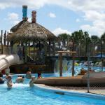 Water park on site