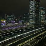 View of Tokyo Station from Room 1214