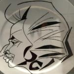 Mozart dinner collection plate!