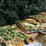 Appetizers in the Courtyard
