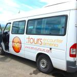 Luxury mini bus with english speaking guide from ENVOY Hostel and Tours