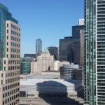 A view of the ACC and Bay Street