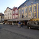 Another view of the main plaza of Mondsee