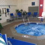 Hot tub-open until 10 pm. Fitness center 24 hours