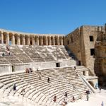 This is Aspendos Roman theatre ; try to visit it its not too far from the hotel.