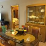 Dining area in a 3 bed apartment