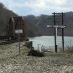 Railway Bridge at Hawks Nest, New River, West Virginia