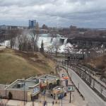 View of American Falls from room 702