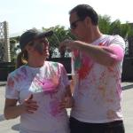 Our first Holi