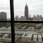 Great view of downtown ATL