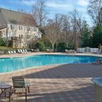 One of outdoor pools
