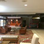 Lobby area during renovation