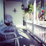 The porch is callin' - Claiborne House B&B Rocky Mount VA