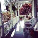 Porch time y'all! Claiborne House B&B Rocky Mount VA