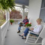 Professional Porch Sitters Union - Claiborne House B&B Rocky Mount VA