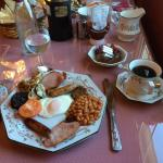 Delicious full Irish breakfast
