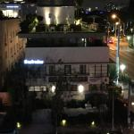 Kaskades suites at night | Gale Hotel South Beach