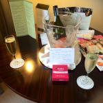 Prosecco and a lovely note ��
